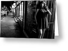Street Mannequin # 3 Greeting Card