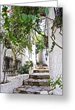 Street Of Marmaris Greeting Card
