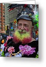 Street Performer Union Square Nyc Greeting Card