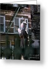 Street Prayer Greeting Card