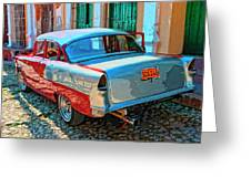 Street Racer Greeting Card