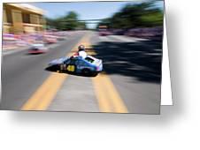 Street Racing Greeting Card