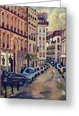 Street Scene Paris 1 Greeting Card