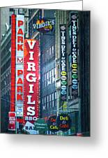 Street Signs Of New York Greeting Card
