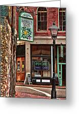 Street Signs Portland Maine Greeting Card