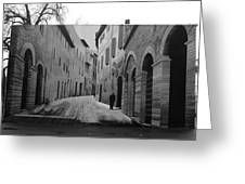 Street Within A Street Greeting Card