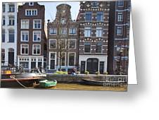 Streets And Channels Of Amsterdam Greeting Card