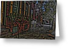 Streets Of Fairmont Greeting Card