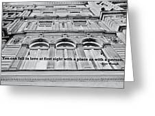 Streets Of London Quote Greeting Card