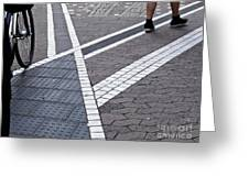 Streets Of Mainz 1 Greeting Card