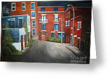 Streets Of Montreal  Joly Greeting Card