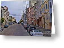 Streets Of San Francisco -2 Greeting Card