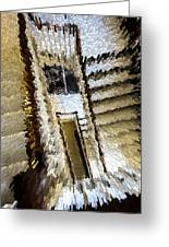 Stretched Stairs Greeting Card