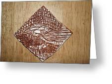 Strike - Tile Greeting Card