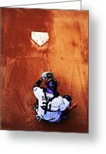 Strike Three Greeting Card by Darryl Gallegos