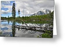 String Lake In Grand Tetons Greeting Card