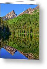 String Lake Morning Mirror Greeting Card
