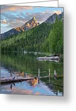 String Lake Greeting Card