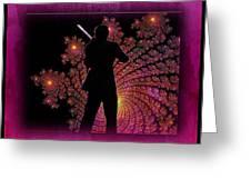 String Sonata Greeting Card