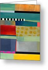 Stripe Assemblage 2 Greeting Card