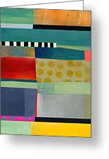 Stripe Assemblage 2 Greeting Card