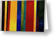Stripes I Greeting Card