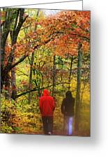 Strolling Along Greeting Card