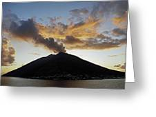 Stromboli - Lighthouse Of The Mediterranean Greeting Card