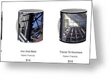 Strong As Steel Coffee Mugs Greeting Card