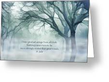 Strongly Rooted Greeting Card