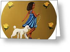 Strut Into This Light Greeting Card