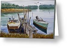 Stuart's Dock  Greeting Card