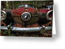 Studebaker Commander Greeting Card