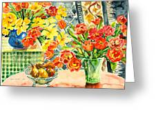 Studio Still Life Greeting Card