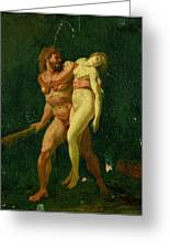Study For Hercules And Alcestis Greeting Card