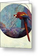Study For Polly 1923 Greeting Card