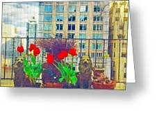 Stuff On The Terrace Greeting Card