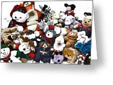 Stuffed Animals Greeting Card