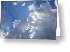 Stunning Clouds  Greeting Card