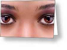 Stunning Eyes Greeting Card