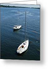 Sturgeon Bay Canal Mooring Greeting Card