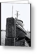 Sturgeon Bay Tug Boat Greeting Card