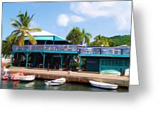 Stxx  Christiansted Us Virgin Islands Greeting Card