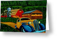 Style And Structure Greeting Card
