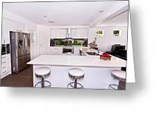 Stylish Modern Kitchen Greeting Card
