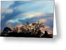 Subdued Sunset Greeting Card