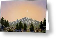 Sublime Sierra Light Greeting Card