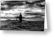 Submariner Greeting Card