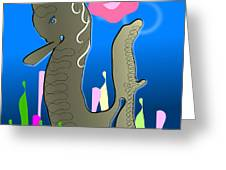 Submerged World Greeting Card
