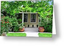Suburban House Hayward California 17 Greeting Card